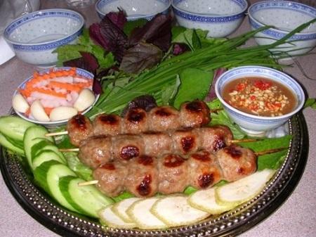 Đồ ăn trong lễ hội ẩm thực tại Thái Lan