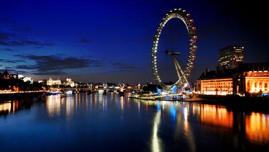 London được bầu chọn là điểm đến ưa thích nhất