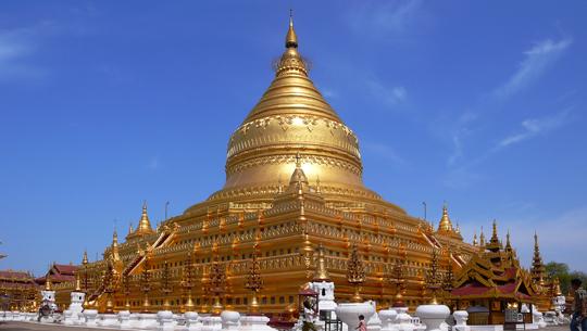 Chùa vàng Shwezigon Myanmar