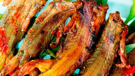 Dông nướng muối ớt