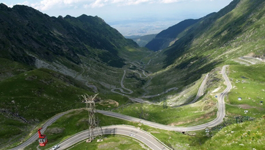 Đường Transfarasan - Rumani