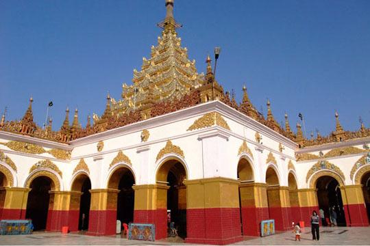 Đền  Mahamuni Myanmar