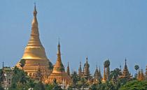 Đền Shwedagon ở Myanmar