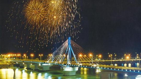 Ảnh cầu quay sông Hàn