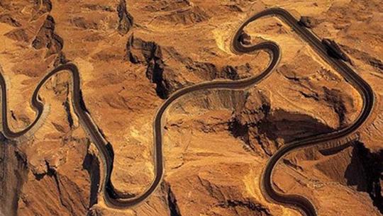 đường núi Jebel Hafeet - Các tiểu vương quốc Ả Rập Thống nhất