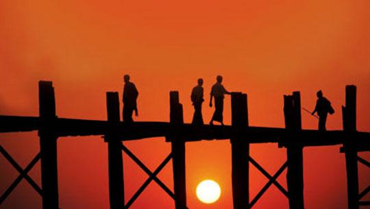 Cầu Ubein - Myanmar