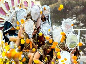 Lễ hội hoa Batalla de Flores ở Tây Ban Nha