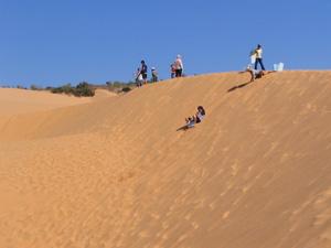Đồi cát ở Mũi Né, Phan Thiết