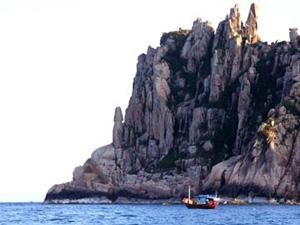 đảo Hòn Nưa - Phú Yên