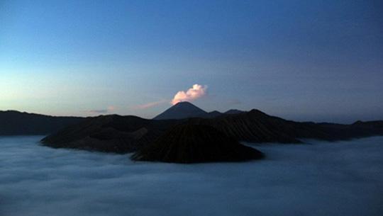 đỉnh núi Semeru - Bali