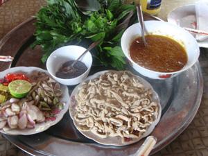 Gỏi cá nhệch - Ninh Bình