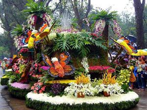 Lễ hội hoa Panabenga ở Philippin