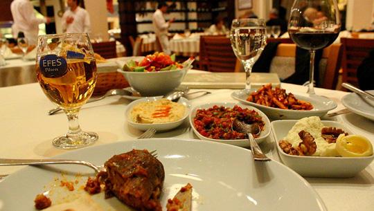 Món meze, Thổ Nhĩ Kỳ