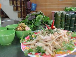 Nem tai Bà Hồng - Hà Nội