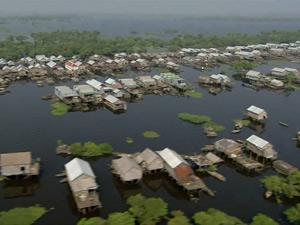 Biển Hồ Tonle Sap, Campuchia