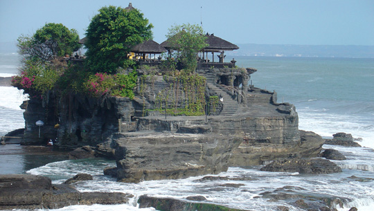 Đền Uluwatu, Bali, Indonesia