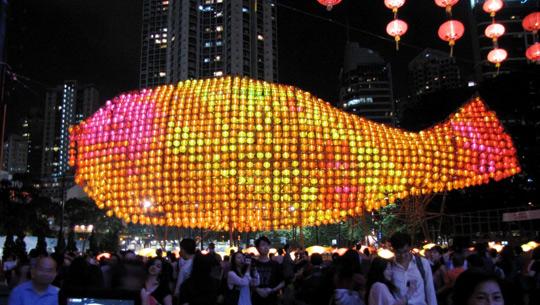 Đèn lồng khổng lồ Lee Kum Kee
