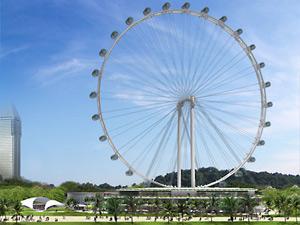 Đu quay Flyer, Singapore