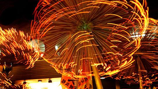 Múa rồng lửa Tai Hang