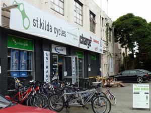 Đạp xe ở Melbourne