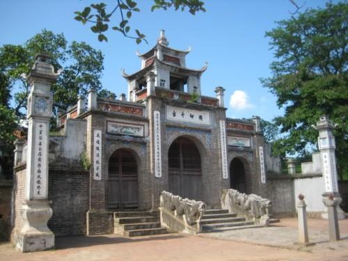 Đền Cuông
