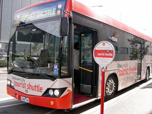 Đi xe bus miễn phí ở Úc