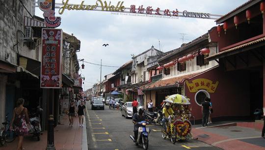 Jonker Walk, Malacca, Malaysia