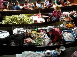 Chợ nổi Taling Chan - iVIVU.com