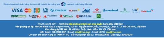 Thông tin về cổng thanh toán và địa chỉ trụ sở của iVIVU hết sức rõ ràng