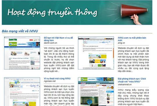 Có thể search trên mạng xem thử đơn vị đó có làm quảng cáo, truyền thông thương hiệu với báo chí hay chưa?
