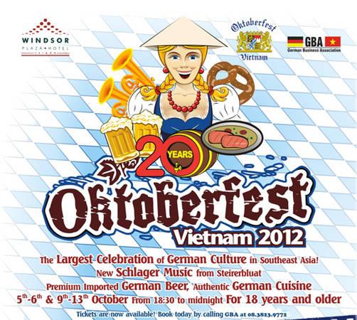 Lễ hội bia Đức Oktoberfest 2012