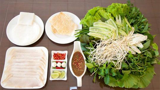 Bánh tráng cuốn thịt heo Đà Nẵng - iVIVU.com