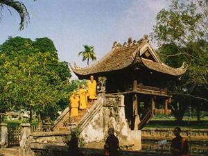 Chùa Một Cột, Hà Nội - iVIVU.com