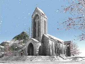 Nhà thờ Sapa - iVIVU.com