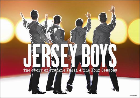 Trình diễn nhạc kịch Jersey Boys tại Singapore