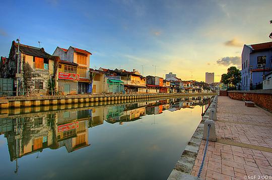 Khu phố ở Malacca - iVIVU.com