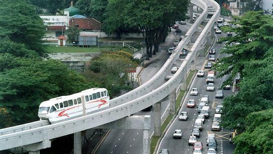 Monorail tại Kuala Lumpur - iVIVU.com