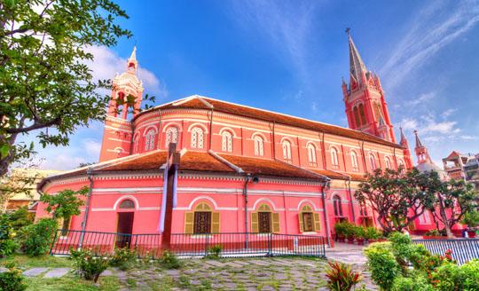 Nhà thờ Tân Định Quận 1 - iVIVU.com