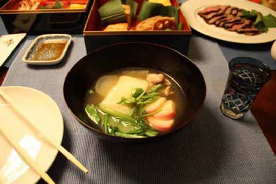 Ẩm thực Nhật Bản - xúp Ozoni - iVIVU.com