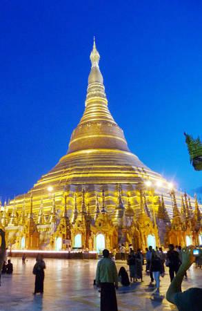 Du lịch Myanmar - chùa Swedagon - iVIVU.com