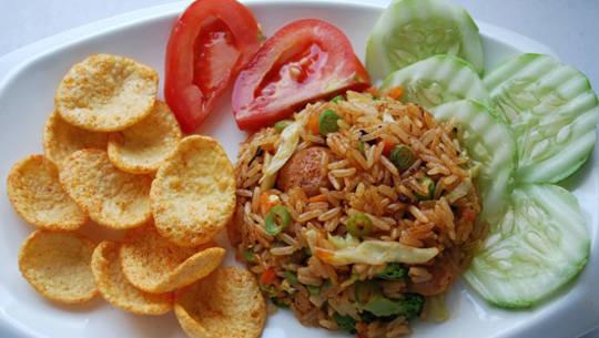 Ẩm thực Indonesia - Nasi Goreng - iVIVU.com