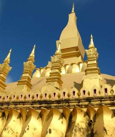 Du lịch Lào - That Luong - iVIVU.com