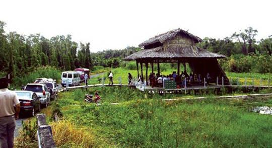 Quán ăn giữa rừng U Minh - iVIVU.com