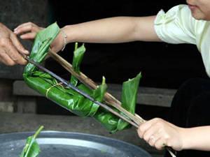Bánh tét người Thái - iVIVU.com