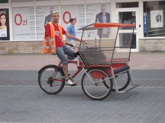 Xích lô ở Ba Lan - iVIVU.com