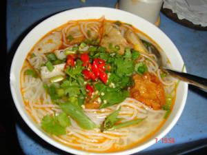 Ẩm thực Phú Yên - bánh canh - iVIVU.com