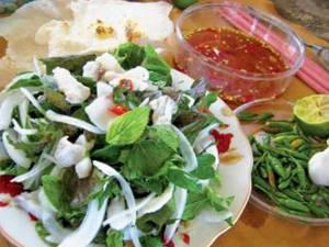 Ẩm thực Phú Yên - gỏi cá nhái - iVIVU.com