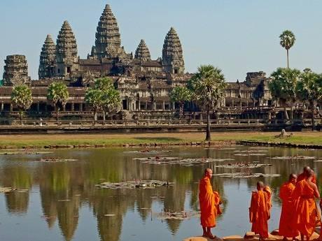 Du lịch Campuchia - Angkokr Wat - iVIVU.com