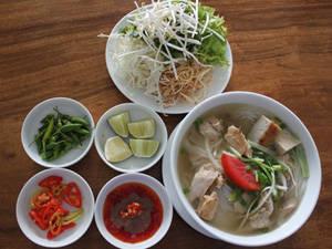 Ẩm thực Nha Trang - bún cá dầm - iVIVU.com