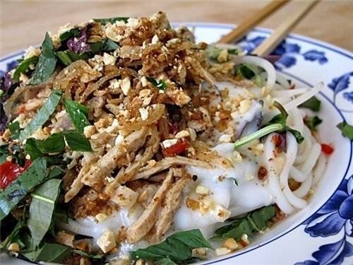 Ẩm thực Bạc Liêu - bánh tằm bì - iVIVU.com